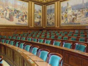 La salle de l'Assemblée du Conseil d'Etat