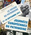 Affiche Journées du patrimoine