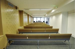 Une des salles du CFJA.