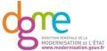 Le logo de la Direction Générale de la Modernisation de l'Etat, organisatrice du challenge