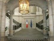 Le hall d'entrée du Conseil d'Etat