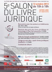5e Salon du livre juridique