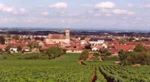 Le village de Marsannay-la-Côte, près de Dijon.