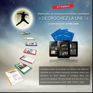 LexisNexis et Le Petit Juriste organisent la 3e édition du concours Décrochez la Une !