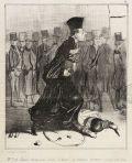 Caricature d'un avocat (1840)
