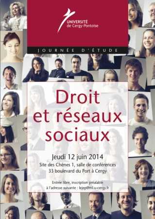 2014-06-12 - LEJEP - Droit et reseaux sociaux - Affiche