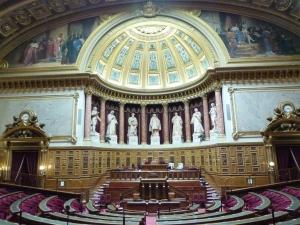 L'hémicycle, le 28 septembre 2014.