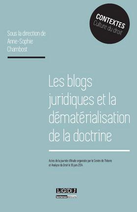 Blogs juridiques et dematerialisation de la doctrine
