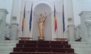 Les locaux du bureau de la procureure générale de Bucarest