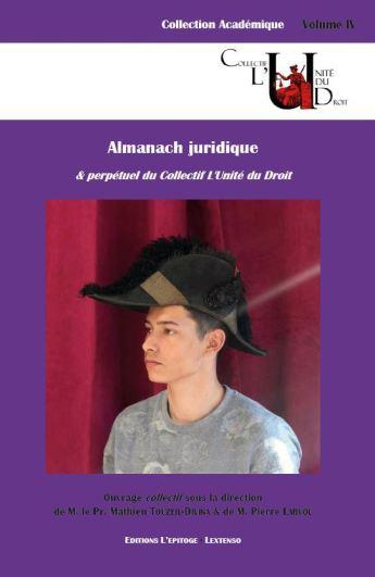 Couverture de l'almanach juridique & perpétuel du CLUD